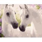 Две белых лошади