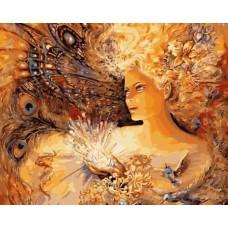 Картина-раскраска по номерам «Энергия молодости» 40*50 см