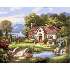 Картина-раскраска по номерам «Хороший день» 40*50 см
