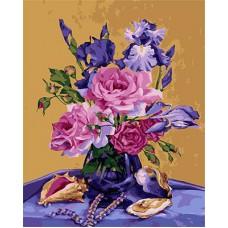 Картина-раскраска по номерам «Краски лета» 40*50 см