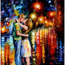 Картина-раскраска по номерам «Любовь» 40*50 см