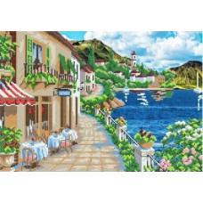 Алмазная мозаика «Набережная» 20*30 см
