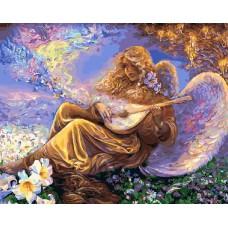 Картина-раскраска по номерам «Небесная лютня » 40*50 см