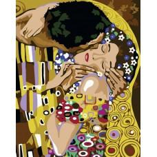 Картина-раскраска по номерам «Нежный поцелуй» 50*65 см