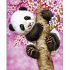 Панда на сакуре