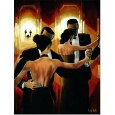 Картина-раскраска по номерам «Пары в танце» 40*50 см