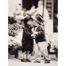 Картина-раскраска по номерам «Первое свидание» 30*40 см