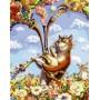 Питерский кот с волынкой
