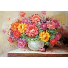 Картина-раскраска по номерам «Прекрасный букет» 40*50 см