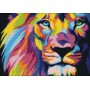 Радужный лев (мозаика)