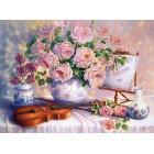 Розы и скрипка