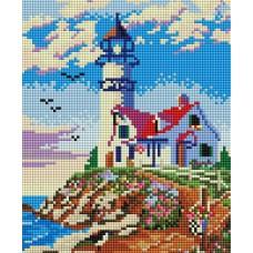 Алмазная мозаика «Старый маяк» 20*25 см