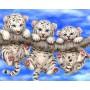Тигрята на ветке