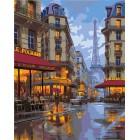Вечером в Париже