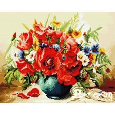 Алмазная мозаика «Весенний букет» 40*50 см