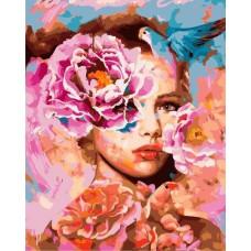 Картина-раскраска по номерам «Весна в душе женщины» 40*50 см