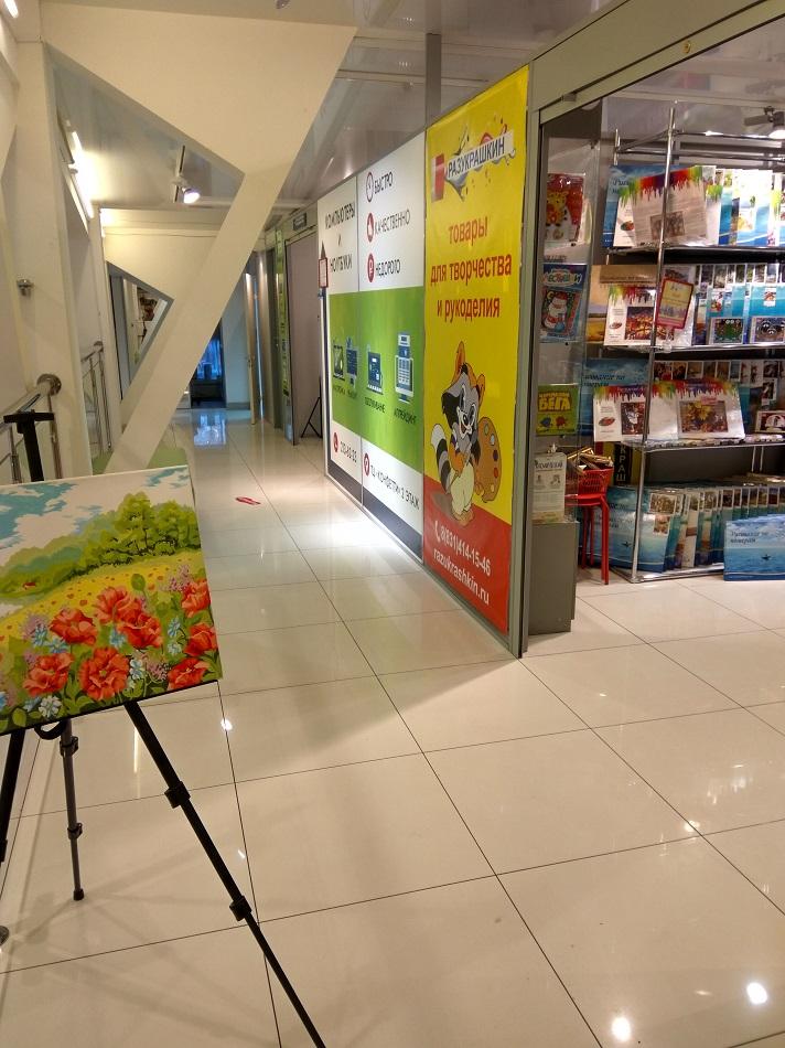 Магазин раскрасок «Разукрашкин» в Нижнем Новгороде